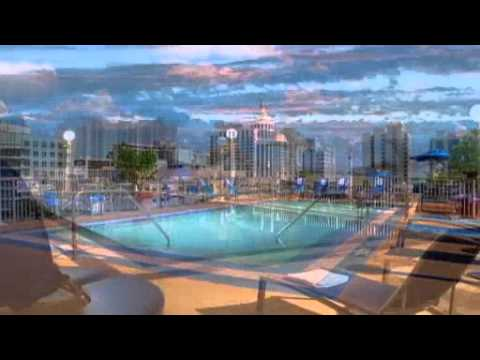 courtyard by marriott miami beach south beach youtube. Black Bedroom Furniture Sets. Home Design Ideas