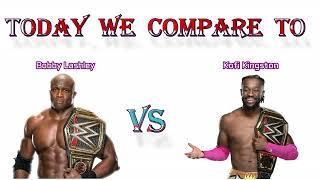 Bobby Lashley VS Kofi Kingston Bobby lashley VS Kofi Kingston Comparison video