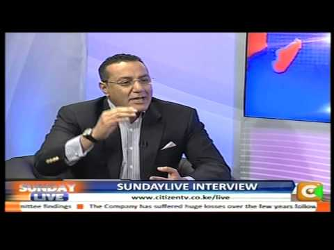 Sunday Live Interview with Najib Balala CS for Mining