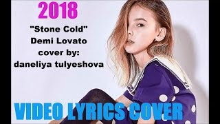 "Daneliya tulyeshova ""STONE COLD"" lyrics"