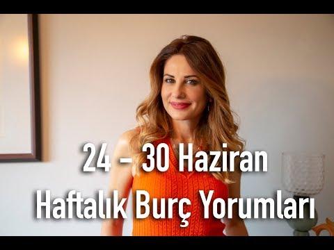 24-30 Haziran Haftalık Burç Yorumları - Hande Kazanova ile Astroloji