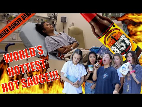 HOT SAUCE SENT HER TO HOSPITAL (FREAKOUT)