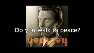 I Would Be Your Slave | David Bowie + Lyrics