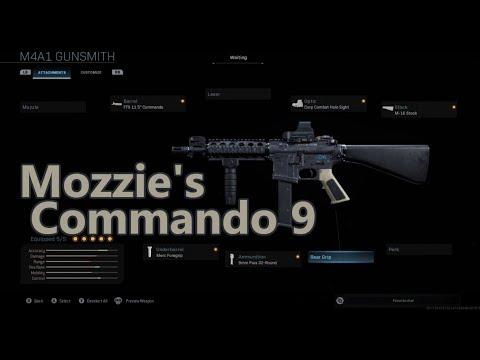 mozzie r6 commando 9