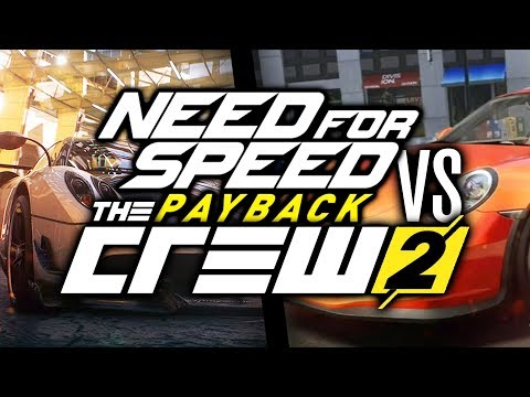 NEED FOR SPEED PAYBACK VS THE CREW 2?!