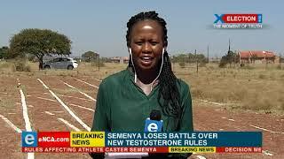 Semenya loses battle over new testosterone rules