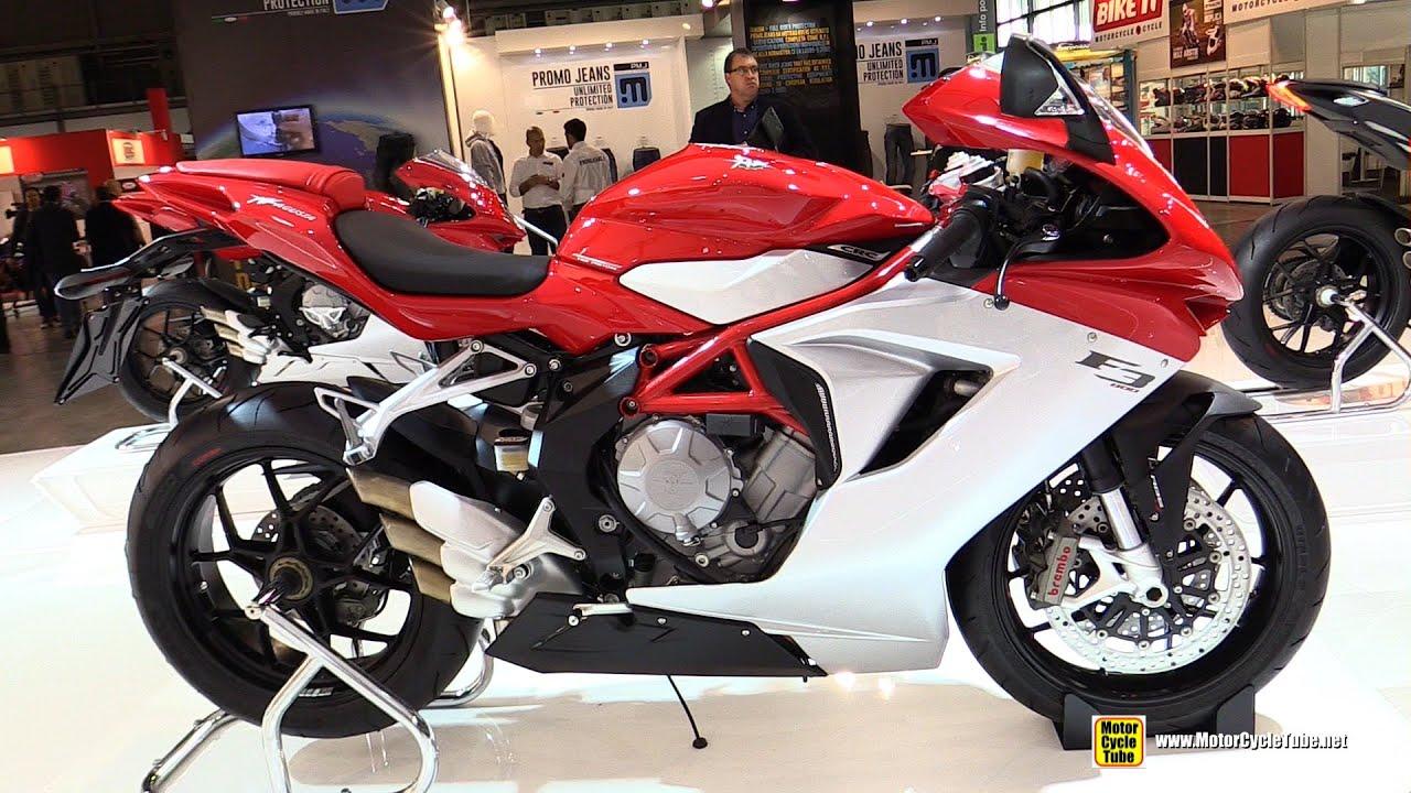 2015 MV Agusta F3 800 - Walkaround - 2014 EICMA Milan Motorcycle Exhibition