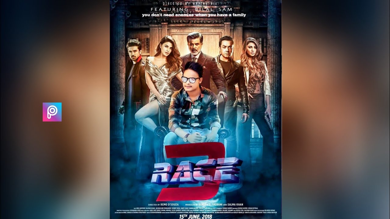 race 3 movie poster edit picsart new movie poster design how