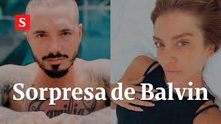 La sorpresa que J Balvin le preparó a su novia argentina | Videos Semana