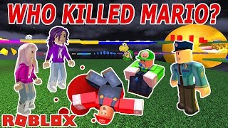 Roblox: Who Killed Mario Obby / THE ANSWER WILL SURPRISE YOU!