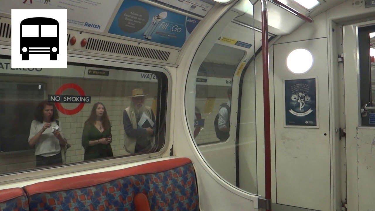 London Underground 1972 Stock Lambeth North To Waterloo
