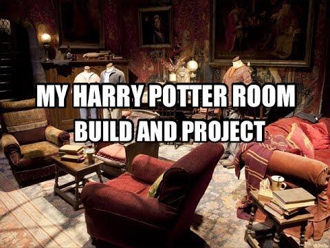 HARRY POTTER BEDROOM : PART 1 | LOUIS SMITHS BUILDS HARRY POTTER BEDROOM!!