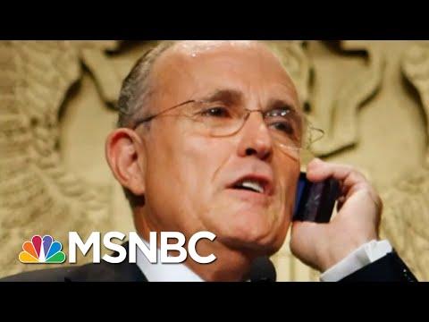 Rudy Giuliani Subpoenaed In Trump Impeachment Probe | The Beat With Ari Melber | MSNBC
