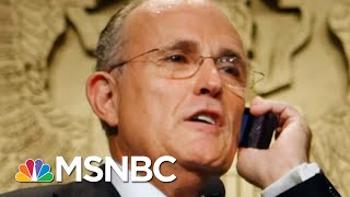 Rudy Giuliani Subpoenaed In Trump Impeachment Probe | The Beat With Ari Melber | MSNBC