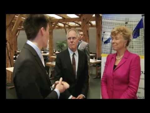 Prof Dr. Gesine Schwan und Moritz Leuenberger im Interview zu Europa