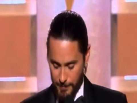JARED LETO GOLDEN GLOBES BEST SUPPORTING ACTOR 2014- FAN EDIT