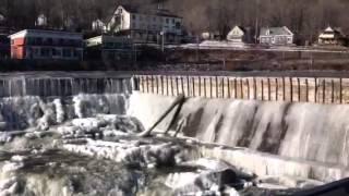 Shelburne's Frozen Falls