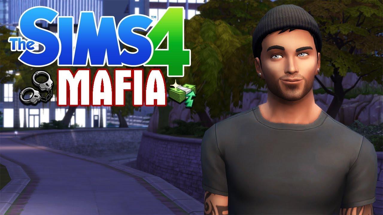 THE MAFIA // The Sims 4 Mafia Rags to Riches Legacy Ep.1 #1