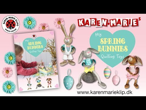 Karen Marie Klip My Quilling Toys Spring Bunnies Kit