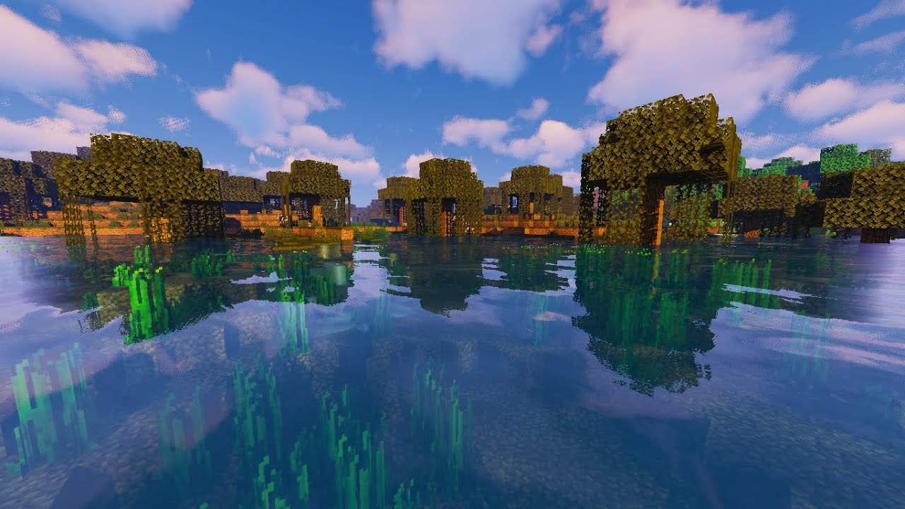 Minecraft Pe Top 5 Best Shaders 2020 Mcpe 1 16 1 16 Texture Pack For Mcpe 1 16 Shaders Pack Youtube