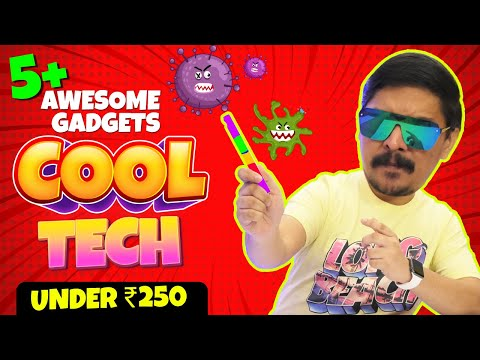 Cool Tech Gadgets / Gifts Under Rs.250 – From Amazon