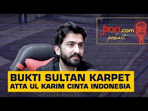 Atta Ul Karim, Sultan Karpet Pakistan Kesengsem Indonesia