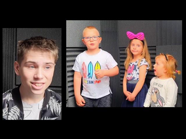 Jakub Kwiatkowski z rodzeństwem - Rodzinne śpiewanie #Inspiruj - miejsce I