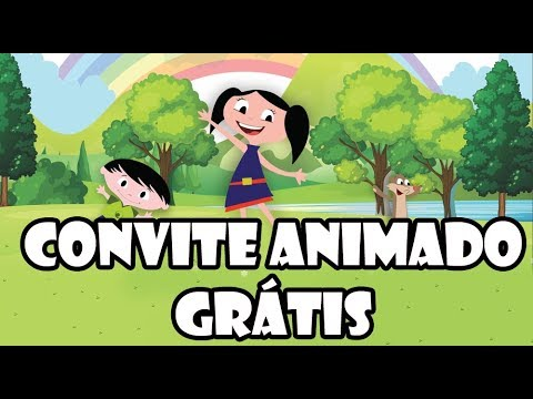 Convite Animado Show da Luna Gratis