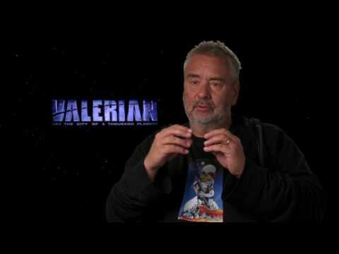 Valerian and the City of a Thousand Planets :  Itw Luc Besson (official video)