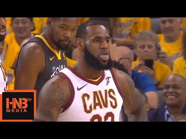 Cleveland Cavaliers vs Golden State Warriors 1st Qtr Highlights / Game 2 / 2018 NBA Finals