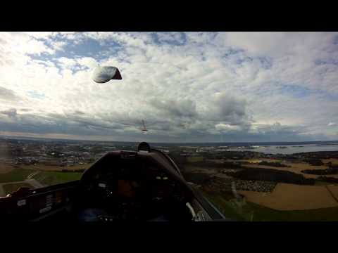 Final glide to ESSP with my Ventus 2cxM