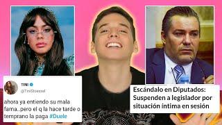EL DIPUTADO COCHINOTE, TINI VS DANNA PAOLA, Y MEMES