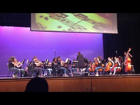 """Lake Nona Middle School Orchestra Preforming """"Storm the Gates"""""""
