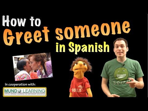 How to greet someone in spanish youtube how to greet someone in spanish m4hsunfo