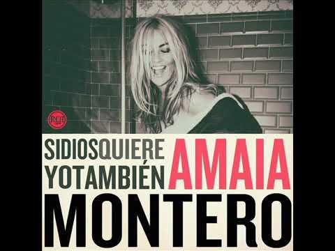 """Amaia Montero """"Si Dios Quiere Yo También """" Disco Completo"""