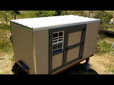 How To Build A Large Cat Shelter / Habitat