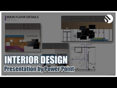 Interior design studio presentation | DESIGN JI