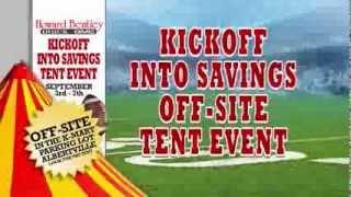 Howard Bentley Buick GMC Kickoff into Savings Tent Event September 2013
