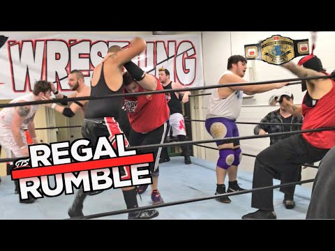 CRAZIEST ROYAL RUMBLE EVER FOR YOUTUBE HEAVYWEIGHT WRESTLING CHAMPIONSHIP! GTS Regal Rumble 2018!