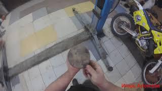 Практика нарезки резьбы в металле.