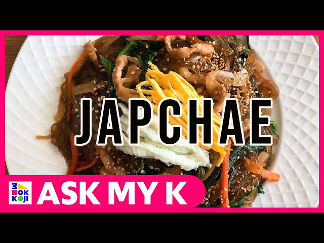 Ask My K : Las Coreanitas - JAPCHAE Recipe