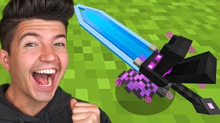 How to Craft a $1,000,000 GOD Sword!  Minecraft