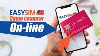 Chip Internacional Easysim4u T-Mobile: Internet Ilimitada com Desconto