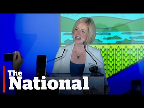 Alberta election results   NDP win majority government