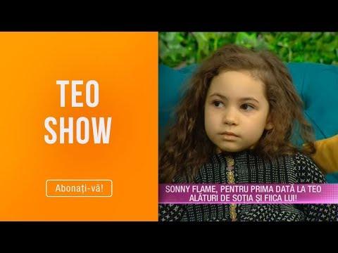 Teo Show (07.02.2019) - Sonny Flame, pentru prima data la Teo alaturi de sotia si fiica lui!