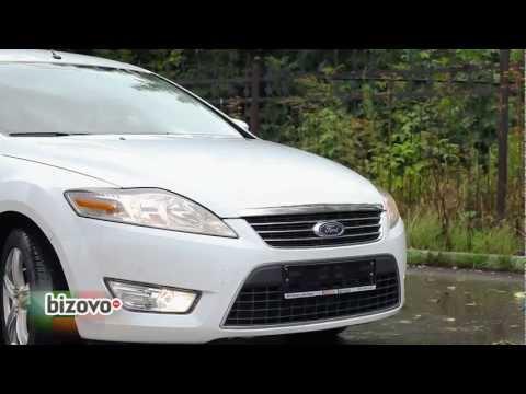 Ford Mondeo 2010 г.в. видео тест-драйв на Bizovo.ru
