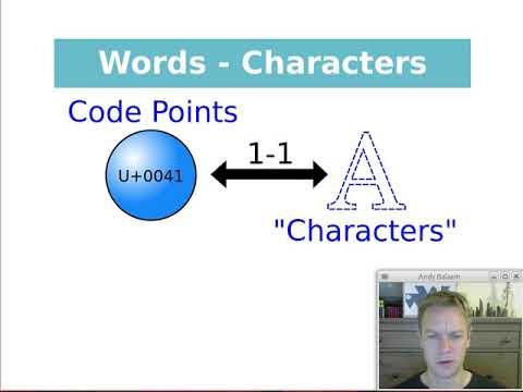 Interesting Characters (UTF-16, Utf-8, Unicode, Encodings)