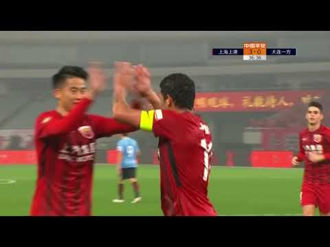 2018 CHA CSL   Round 1   Shanghai SIPG vs Dalian YiFang