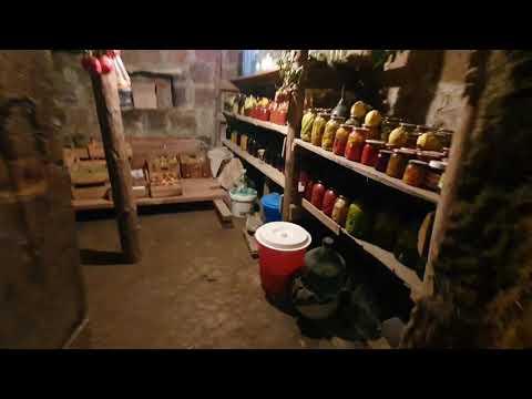 АРМЯНСКИЕ ПОГРЕБА ЕДЫ. ARMENIAN FOOD CELLAR Ереван . Что едят Армяне ?Как запасаются армяне?