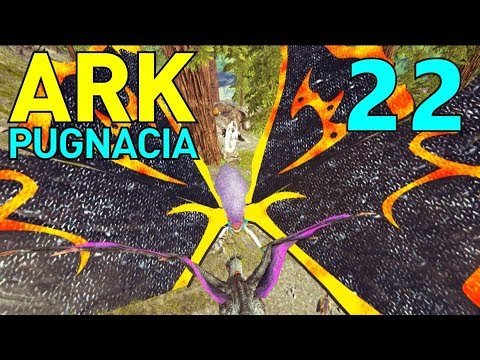 [22] New Mothra Boss!!! (Let's Play ARK Pugnacia Multiplayer)